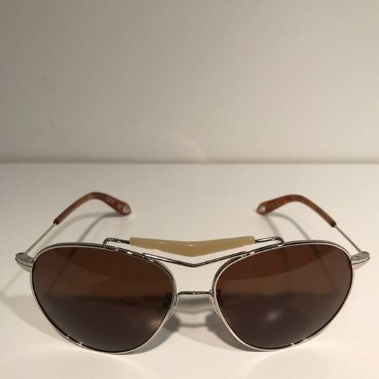 Givenchy Givenchy Silver Aviator Sunglasses Size ONE SIZE