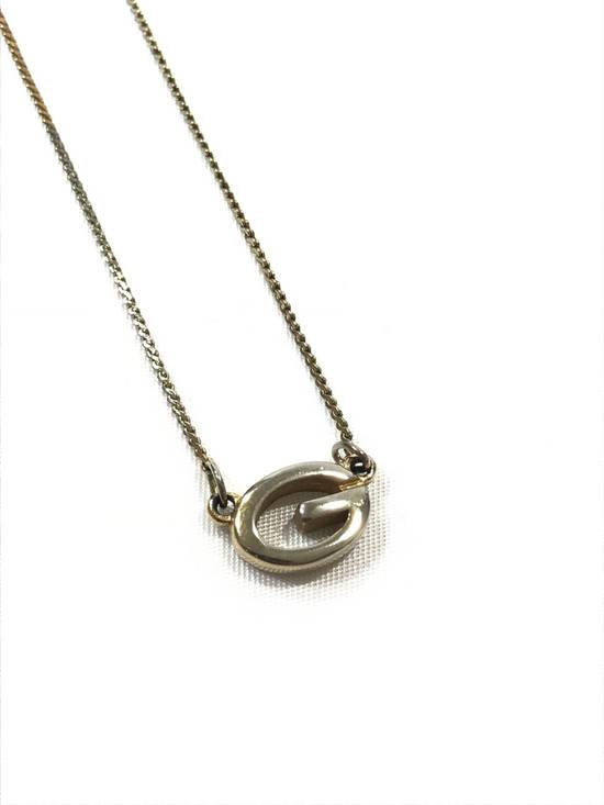 """Givenchy Silver """"G"""" Chain Size ONE SIZE - 1"""