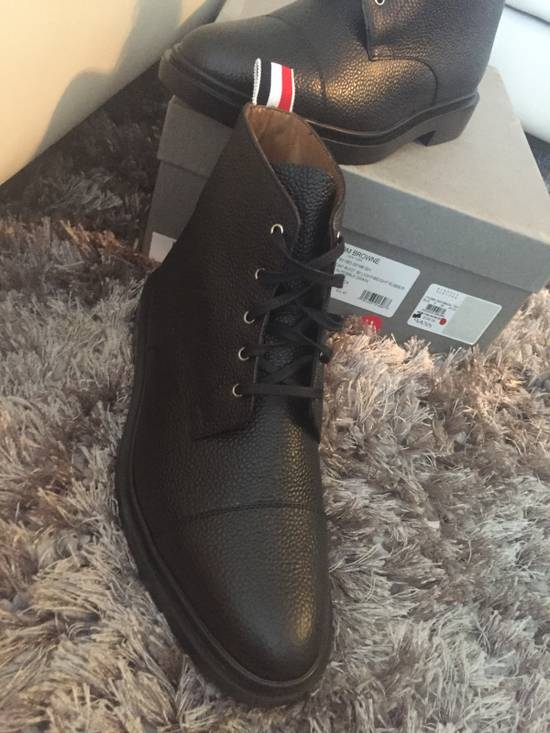Thom Browne New $790 Pebbled Leather Boots Size US 8 / EU 41 - 13