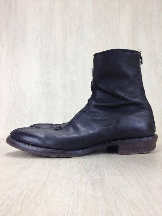 Julius ARCHIVE FW09 Front Zip Boots Size 2//9.5-10 Great Condition Size US 9.5 / EU 42-43 - 2
