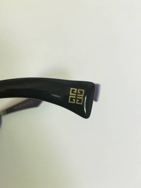 Givenchy Transparent Midnight Purple Retro Givenchy Sunglasses Size ONE SIZE - 2