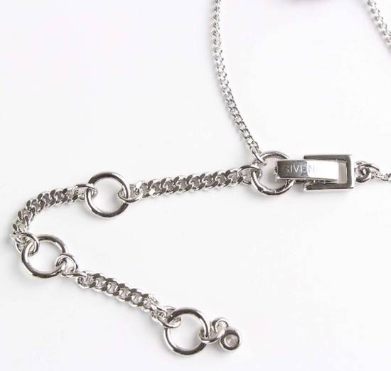 Givenchy Givenchy Blue Crystal Silver Necklace Diamond Chain Size ONE SIZE - 3