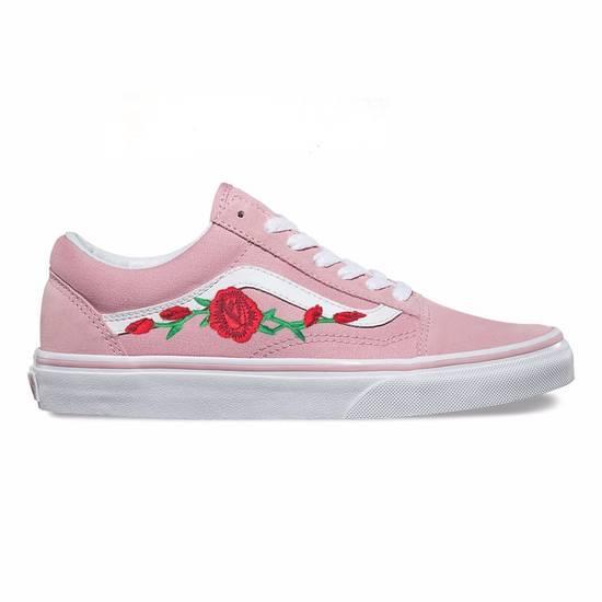 Vans Custom Embroidered Rose Vans Size US 10 / EU 43 - 5