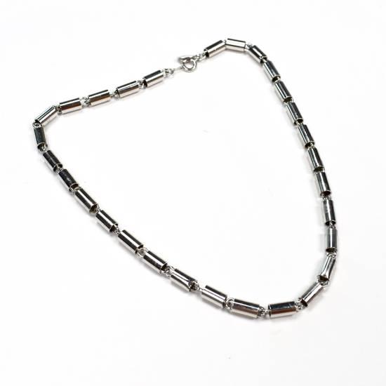 Givenchy 1976 Silver Barrel Chain Necklace / Bracelet Size ONE SIZE - 4