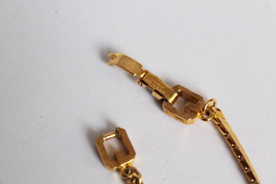 Givenchy Gold Plated Herringbone Twist Bracelet Size ONE SIZE - 3