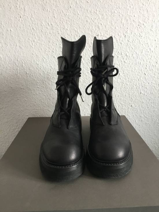 Julius AW16 Void Military Combat Crepe Boots Size US 10 / EU 43 - 3