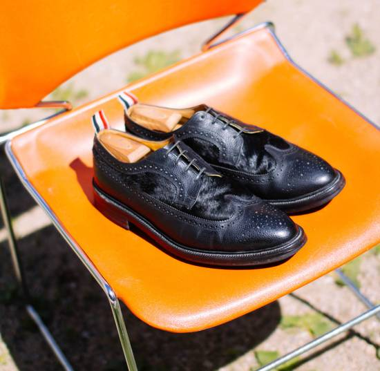 Thom Browne Need Gone Send Offers Calf Hair Rare Brogues Size US 12 / EU 45