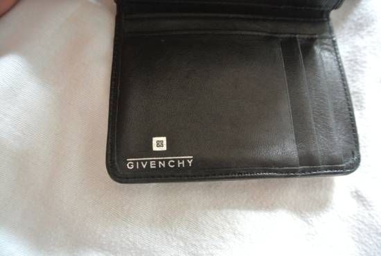 Givenchy Givenchy Wallet Purse cardholder leather Black & wine Made in italy Size ONE SIZE - 7