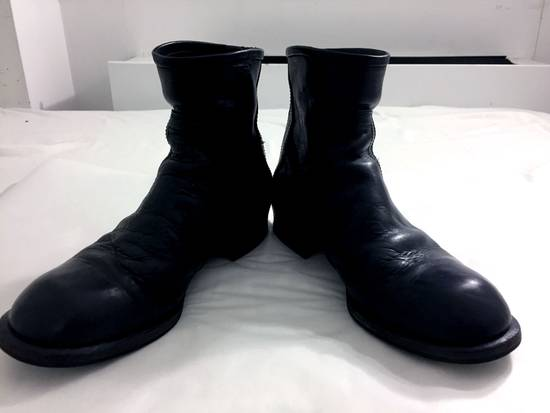 Julius JULIUS 12-13F/W [Resonance;] Engineered Backzip Boots Size US 8.5 / EU 41-42 - 5