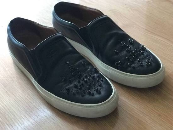 Givenchy AS-IS!! Crystal Embellished Leather Sneaker Size US 8 / EU 41 - 4