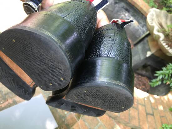 Thom Browne Pebble Grain Longwing Brogues - us 9 Size US 9 / EU 42 - 7