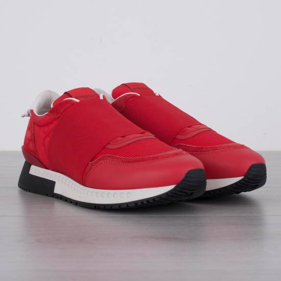 Givenchy Red Band Strap Sneakers Size US 11 / EU 44