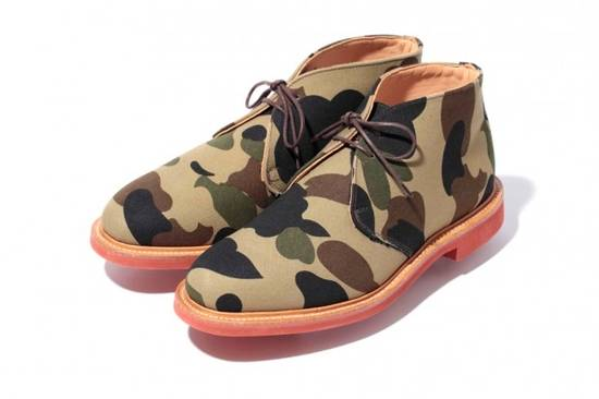 Mark Mcnairy New Amsterdam Mark McNairy x A Bathing Ape Forest Green Camo Chukka Boot Size US 8.5 / EU 41-42 - 3