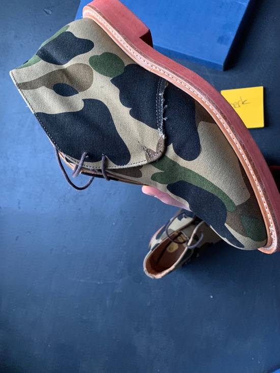 Mark Mcnairy New Amsterdam Mark McNairy x A Bathing Ape Forest Green Camo Chukka Boot Size US 8.5 / EU 41-42 - 6