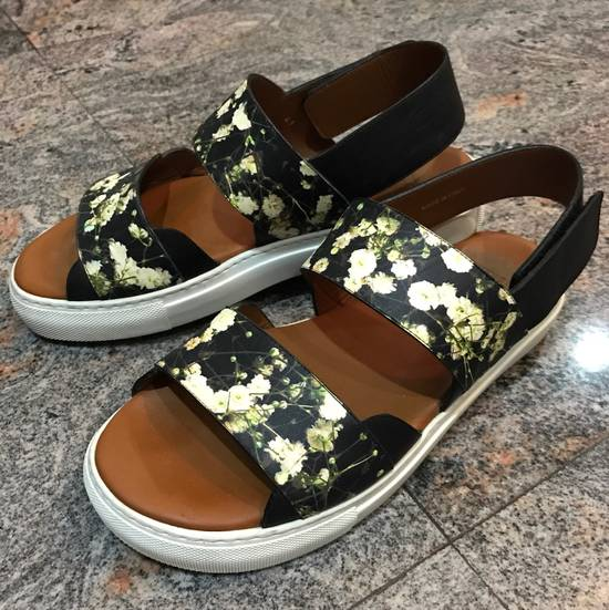 Givenchy Givenchy Floral Print leather strap sandals Size US 8 / EU 41