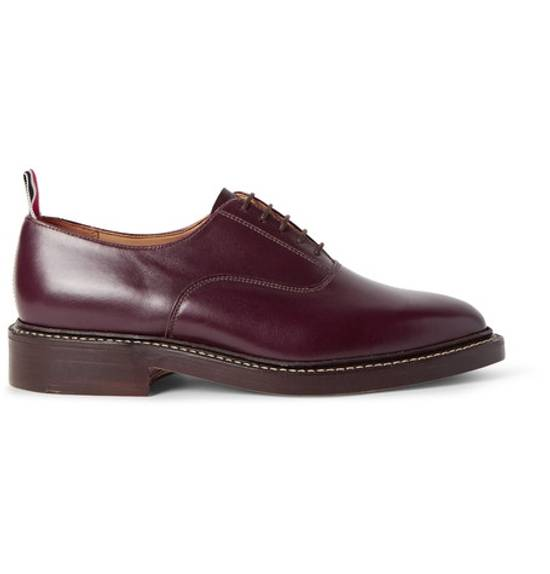 Thom Browne Oxford Leather Shoe $1150 Size US 10 / EU 43 - 1