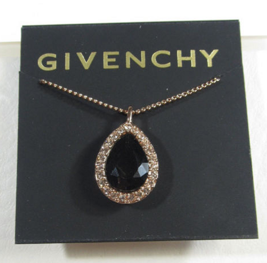 Givenchy LAST DROP Givenchy Rose Gold Crystal Necklace Size ONE SIZE - 1