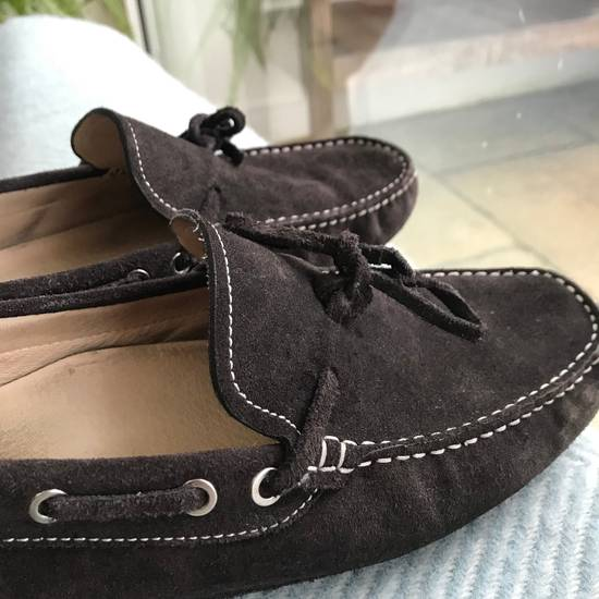 Balmain Balmain Brown Suede Driving Loafers Size US 8.5 / EU 41-42 - 1