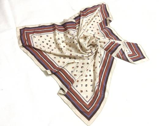 Givenchy Givenchy Stripe Silk Scarf Abstract Silk Scarves Size ONE SIZE - 5