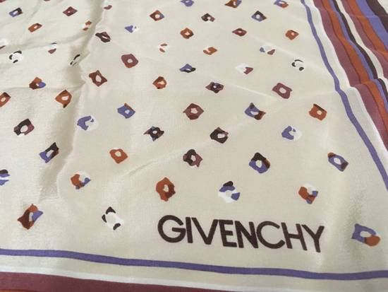 Givenchy Givenchy Stripe Silk Scarf Abstract Silk Scarves Size ONE SIZE - 3