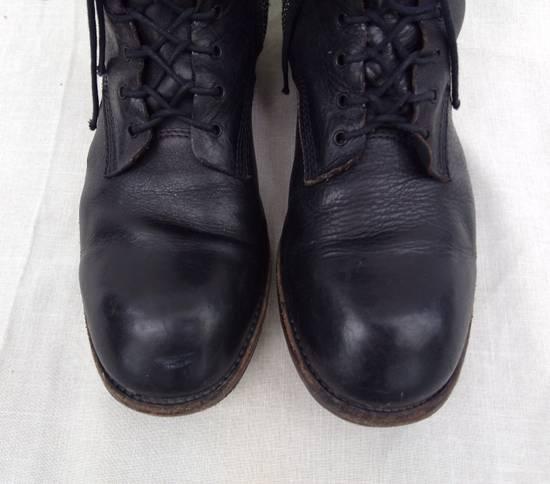 Julius f/w09 Tall Combat Boots Black Size US 11 / EU 44 - 4