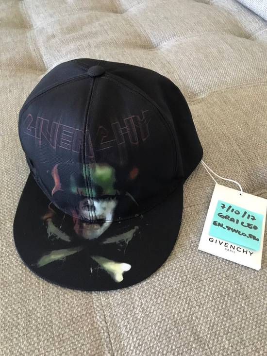 Givenchy GIVENCHY ARMY SKULL PRINTED CANVAS BASEBALL HAT (New) Size ONE SIZE