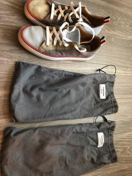 Thom Browne Multi Color Calf Leather Sneaker Size US 8 / EU 41 - 7