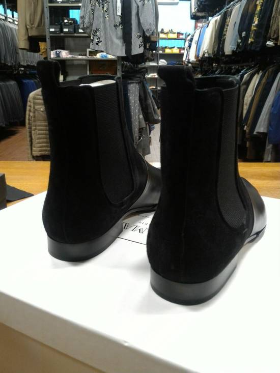 Balmain 40-41-42 Contrast Suede & Leather Boot Size US 9 / EU 42 - 3