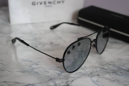 Givenchy NEW Givenchy GV7057/S 7057 Star Aviator Silver Mirrored Sunglasses Size ONE SIZE - 6