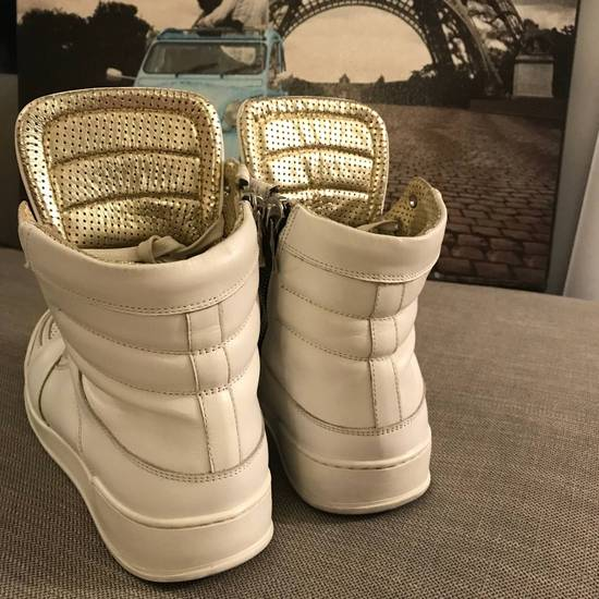 Balmain Balmain White High-Top Sneakers Size US 6.5 / EU 39-40 - 2
