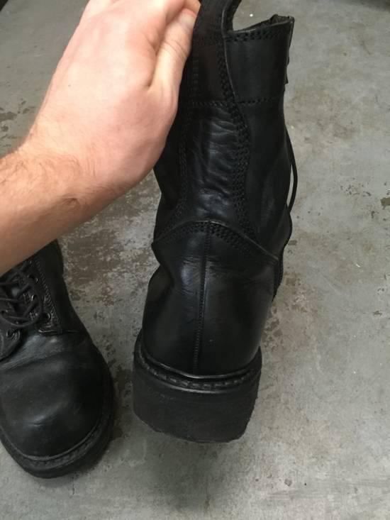 Julius LAST DROP 11-Hole Sidezip Combat Boots Size US 9 / EU 42 - 9