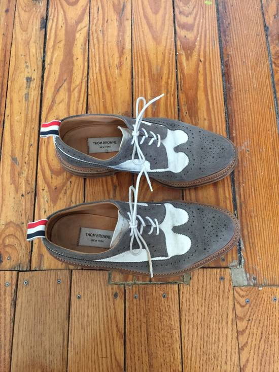 Thom Browne Suede Longwing Brogues Size US 8 / EU 41 - 1