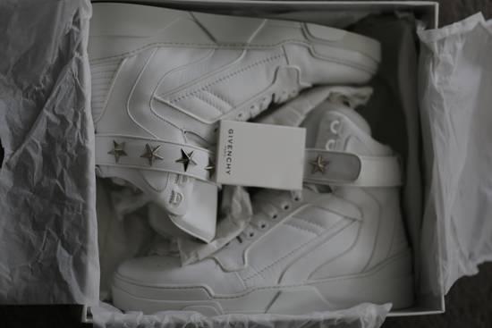 Givenchy Tyson Hightop STARS STRAPS Leather Sneaker Size US 12 / EU 45 - 8