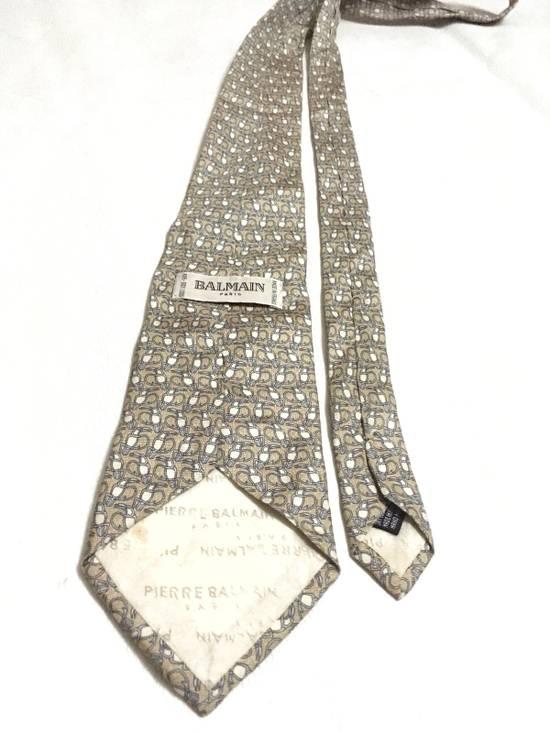 Balmain Vintage Balmain Tie Pierre Balmain Silk Necktie Animal Repeat Tie Size ONE SIZE - 3