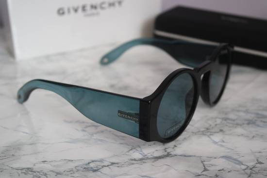 Givenchy NEW Givenchy GV 7056/S Blue Black Tint Lens Round Frame Sunglasses Size ONE SIZE - 3