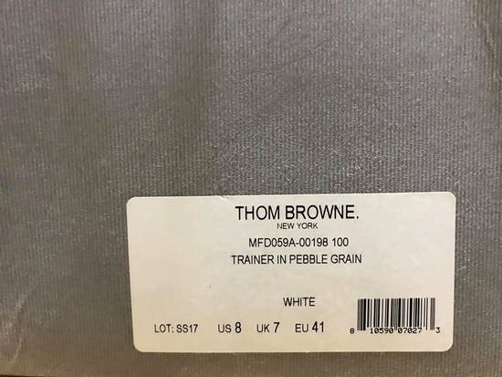 Thom Browne Cap-toe Grained Leather Size US 8 / EU 41 - 1