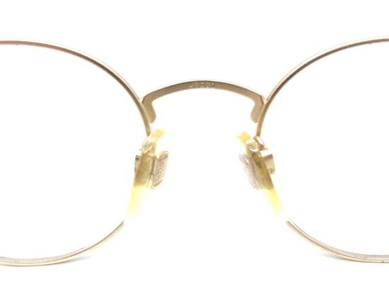 Givenchy RARE Vintage Gold 90s Round Frames Givenchy Pink Blue Purple Eyeglasses Size ONE SIZE - 2