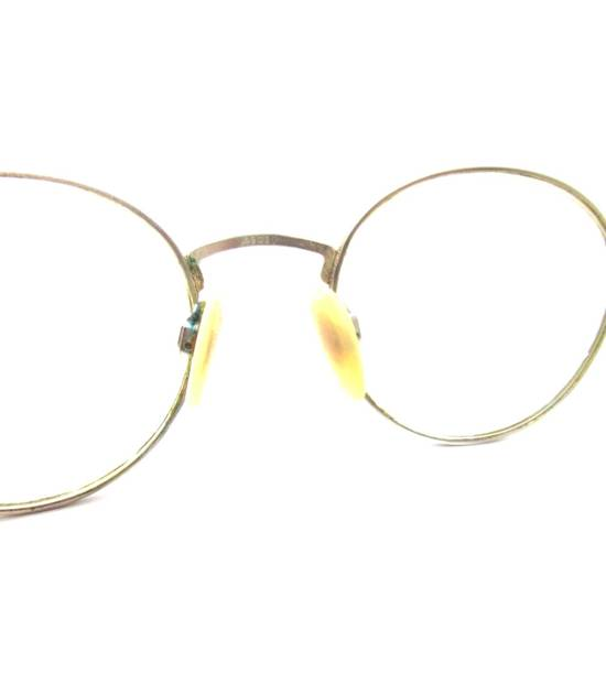 Givenchy Vintage 90s Gold Round Givenchy Frames Pink Blue Purple Eyeglasses Glasses Not Cartier Gucci Saint Laurent Fendi Dior Versace Size ONE SIZE - 5