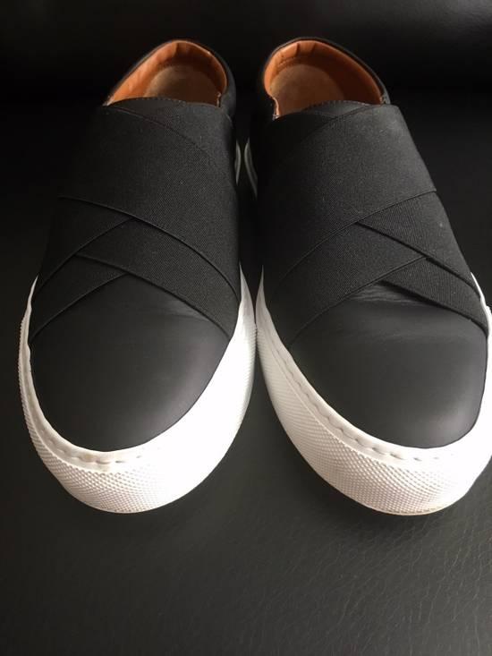 Givenchy Cross Strap Leather Slip-on Sneaker Size US 6 / EU 39 - 1