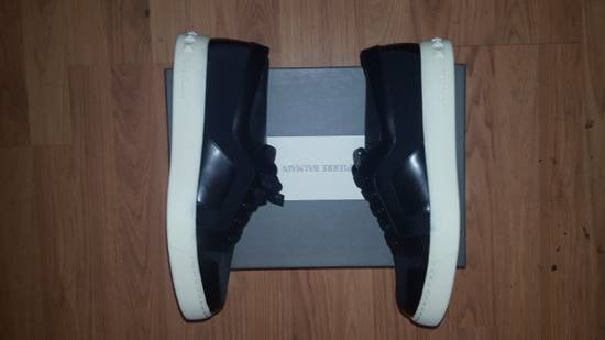 Balmain Low-Top Leather Sneakers Size US 12 / EU 45 - 2