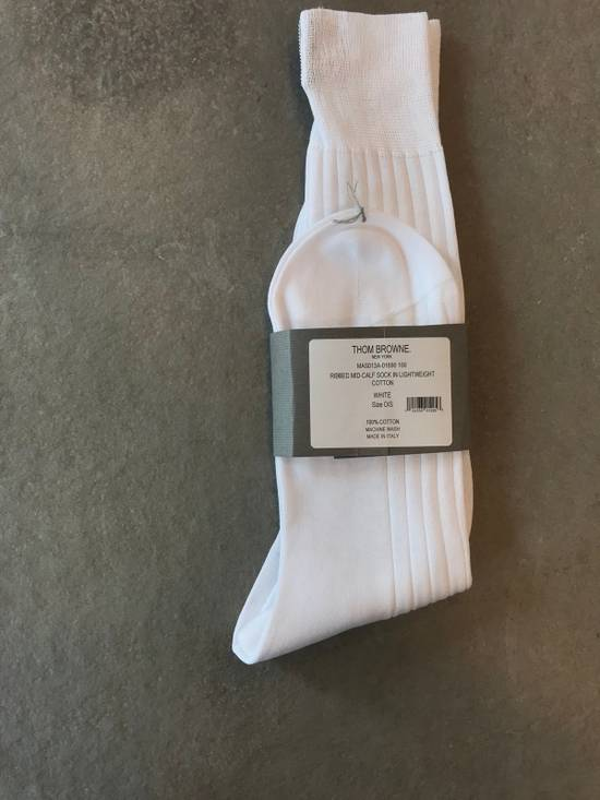 Thom Browne **LAST DROP** Ribbed mid-calf Sock Size ONE SIZE - 2