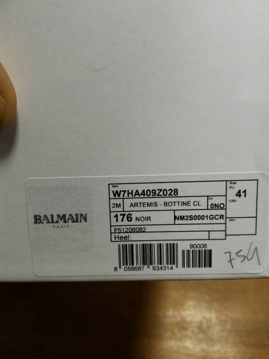 Balmain 40-41-42 Contrast Suede & Leather Boot Size US 9 / EU 42 - 4