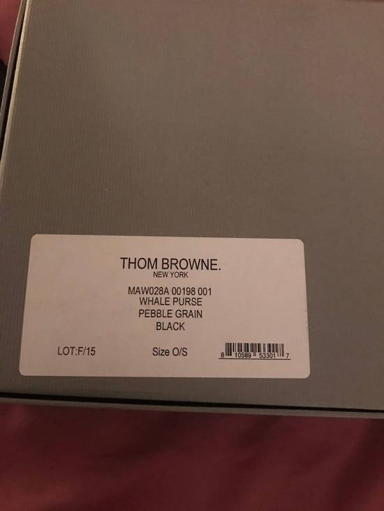Thom Browne Leather pouch Size ONE SIZE - 2