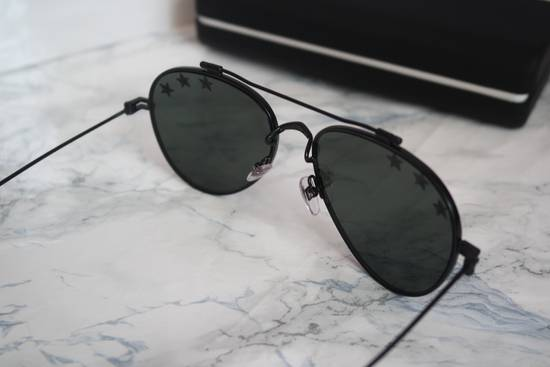 Givenchy NEW Givenchy GV7057/S 7057 Star Aviator Silver Mirrored Sunglasses Size ONE SIZE - 9