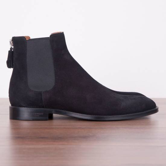 Givenchy SS18 New Suede Chelsea Boots With Back Zip Size US 8.5 / EU 41-42 - 1
