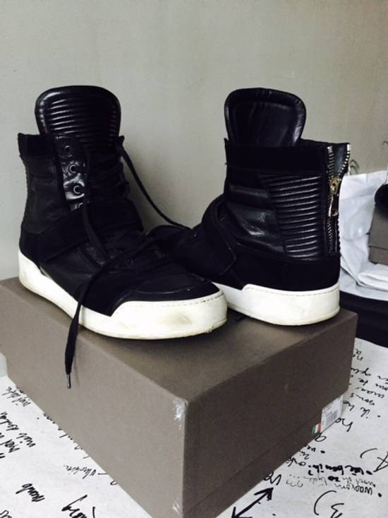 Balmain backzip sneakers Size US 10.5 / EU 43-44 - 2