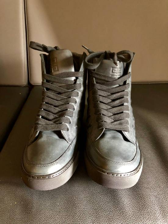 Givenchy Givenchy by Riccardo Tisci 2010 Triple black covered studs sneakers Size US 7 / EU 40 - 9