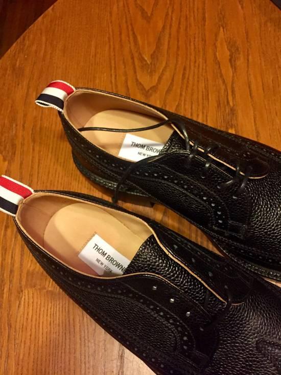 Thom Browne *Brand New* Black Leather Brogues Size US 8 / EU 41 - 2