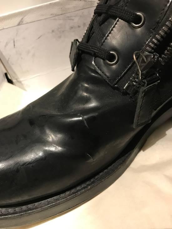 Balmain Giuseppe Zanotti double zippers leather boots Size US 10 / EU 43 - 7