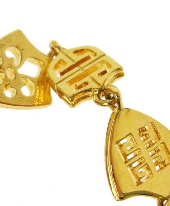 Givenchy Givenchy Logo Charm Bracelet Gold Tone G Clasp Size ONE SIZE - 3